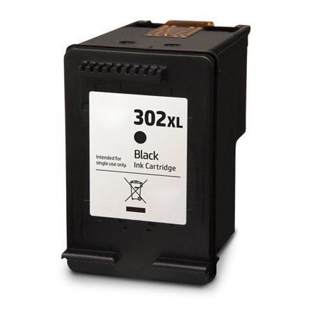 Cartus HP 302XL BK F6U68AE negru compatibil 15ml