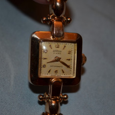 CEAS de dama - AUR 18K - ASTROLUX - Mecanic - Swiss - Vintage - 20g. -190lei/gr.