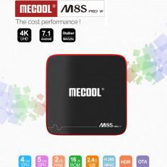 Smart Tv BOX Android M8S Pro W Media Player 2GBWifi limba Romana Netfli