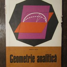 GEOMETRIE ANALITICA-ALEXANDRU MYLLER