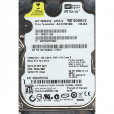 hdd Hard Disk laptop wd1600bevs-22rst0 WD Scorpio 160GB 160 SATA