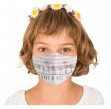 Cumpara ieftin Masca reutilizabila din textil pentru copii 6-9ani, Nice Day