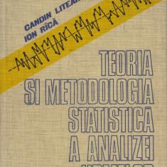 Liteanu, C. s. a. - TEORIA SI METODOLOGIA STATISTICA A ANALIZEI URMELOR, Craiova, Alta editura, 1979