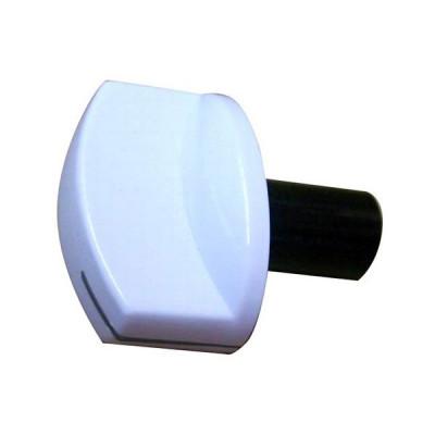 Buton aragaz Beko, include buton, arc si decor alb foto