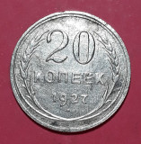 A5597 Rusia 20 kopecks kopeks 1927
