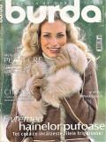 Burda revista de moda ( croitorie) insert in limba romana 47 tipare 11/2006