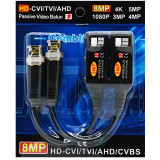 Cumpara ieftin Video balun 8MP HDCVI/TVI/AHD/CVBS, conectare fara suruburi