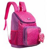 Rucsac ZIP..IT Wildlings Premium roz + portofel