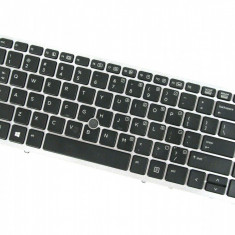 Tastatura Laptop HP Elitebook 850 G2 luminata cu mouse pointer