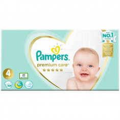 Scutece Pampers Premium Care 4 Mega Box, 104 bucati
