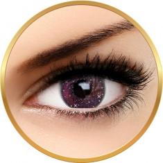 Fashion Lentilles Galaxy Pink - lentile de contact pentru Halloween anuale - 365 purtari (2 lentile/cutie)