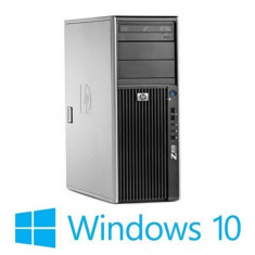 Workstation refurbished HP Z400, Intel Xeon X5650, Win 10 Home