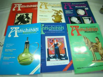Revista pentru pasionati  ANTICHITATI ROMANIA, 30 BUCATI foto