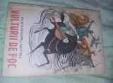 Carte veche Copii NEFOLOSITA,VULTURII DE FOC,LEGENDA VALAHA-AL.MITRU,1986,T.GRAT
