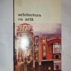 ARHITECTURA CA ARTA 423PAGINI