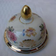 Capac din portelan fin german prevazut pentru vaza, Decorative