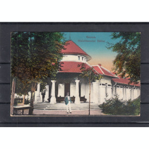 BAILE  GOVORA   STABILIMENTUL BAILOR  CIRCULATA  1923