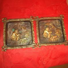 Tablouri miniatură bronz antice