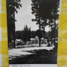 CP Borsec -Case de odihna- circulata 1961