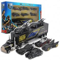 Set 7 figurine Justice League Batman, negru