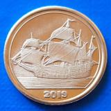 Tortuga 50 cent 2019 UNC Corabie, Australia si Oceania