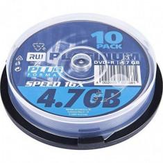 DVD+R (Set 10Buc) Matt Silver 4,7GB 16x Speed Platinium