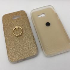 Husa  Silicon cu inel Samsung A5 2017 / iRing
