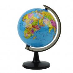 Glob pamantesc mic, cartografie politica in limba engleza, 14 cm
