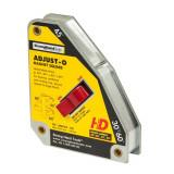 Coltar Magnetic cu Buton Adjust-O™   Forta 65 kg   Unghi 30°/45°/60°/90°   Strong Hand Tools – USA   MSA53-HD