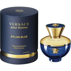 Versace Pour Femme Dylan Blue EDP 100ml pentru Femei produs fără ambalaj