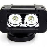 LED Bar Auto Offroad 20W/12V-24V, 1700 Lumeni, 4.6″/12 cm, Spot Beam 12 Grade