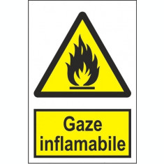 Indicator Gaze inflamabile - Semn Protectia Muncii