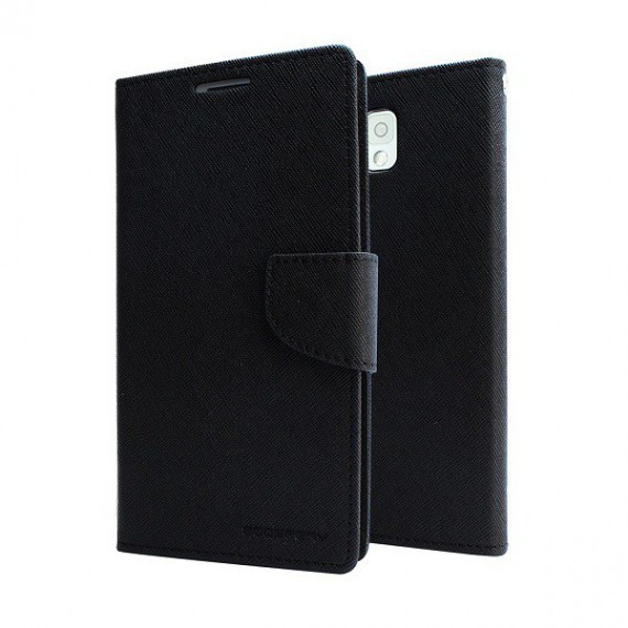Husa mercury fancy diary sony xperia z3 negru blister