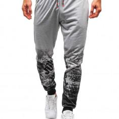 Pantaloni de trening bărbați gri Bolf 300129