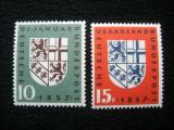 Germania / Saar ,serie marci postale neuzate MNH, 1957, Nestampilat