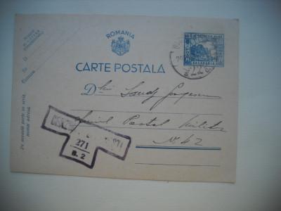 HOPCT  346 G  CENZURAT 1941 BUCURESTI-CARTE POSTALA MILITARA-CIRCULATA foto