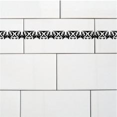 Sticker Bordura Decorativa pentru Faianta | KM-BOR-45 | Pret/m liniar