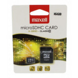 Card microSDHC Maxell, 16 GB, seria X, clasa 10