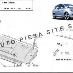 Scut metalic motor Seat Toledo 3 III fabricat in perioada 2005 - 2012 APS-30,141