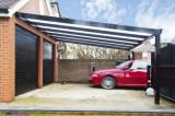 Carport masini din aluminiu cu acoperis policarbonat