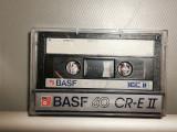 caseta audio BASF Chrome CR-E II 60 - RFG/Vintage/stare: Impecabila