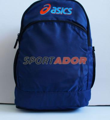 Rucsac Asics albastru -44x33x18cm- factura garantie foto