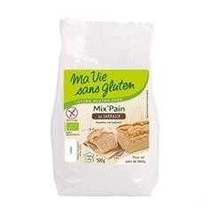 Amestec Bio pentru Paine cu Hrisca Fara Gluten Ma Vie Sans Gluten 500gr Cod: 5779