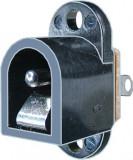 Conector DC, 2,1mm, montare pe panou - 121927