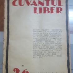 Cuvântul Liber, Nr. 26, 19 iulie 1924