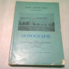 MONOGRAFIE LICEUL EMANUIL GOJDU, LA 50 DE ANI - TEODOR NES