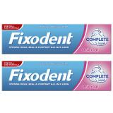 Pachet Crema adeziva pentru proteza dentara Complete Original, 47 g + 47 g, Fixodent