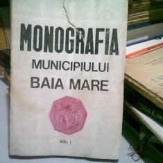 MONOGRAFIA MUNICIPIULUI BAIA MARE