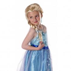 Peruca pentru fetite Frozen Elsa, varsta 3-10 ani