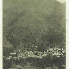 Cp Tusnad Bai : Vedere generala - circulata 1928, timbre, Fotografie, Baile Tusnad